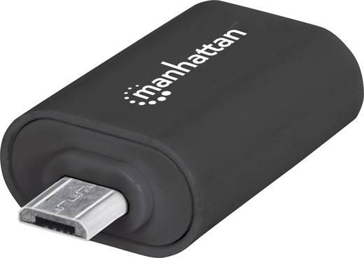 USB - mikro USB átalakító adapter (1x mikro B USB 2.0 - 1x USB A 2.0 aljzat) Manhattan 406192