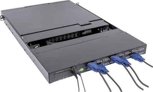 16 portos, beépíthető KVM switch, LCD monitorral Intellinet 507219