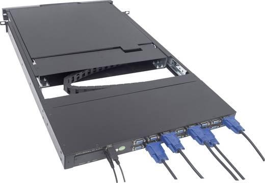 16 portos, beépíthető KVM switch, LCD monitorral Intellinet 507059