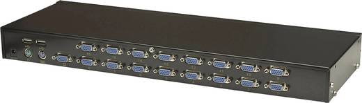 16 portos KVM switch Intellnet 506496