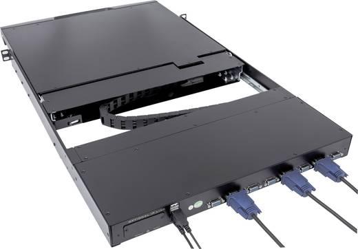 8 portos, beépíthető KVM switch, LCD monitorral Intellinet 507172
