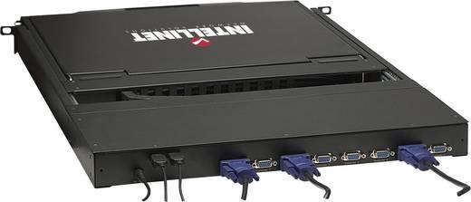 8 portos, beépíthető KVM switch, LCD monitorral Intellinet 506540