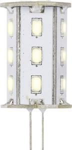LED-es fényforrás, 46.2 mm12 V G4 2.4 W = 20 W Melegfehér, Renkforce Renkforce