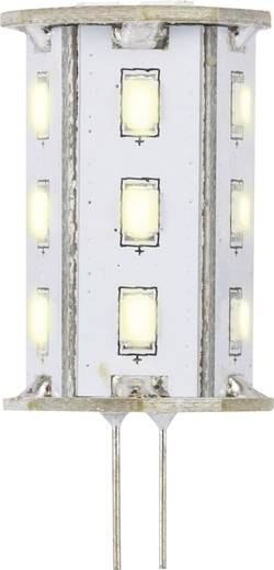 LED-es fényforrás, 46.2 mm12 V G4 2.4 W = 20 W Melegfehér, Renkforce