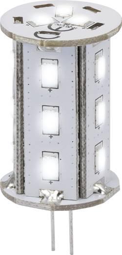 LED-es fényforrás, 46.2 mm12 V G4 2.4 W = 20 W Nappalifény-fehér, Renkforce