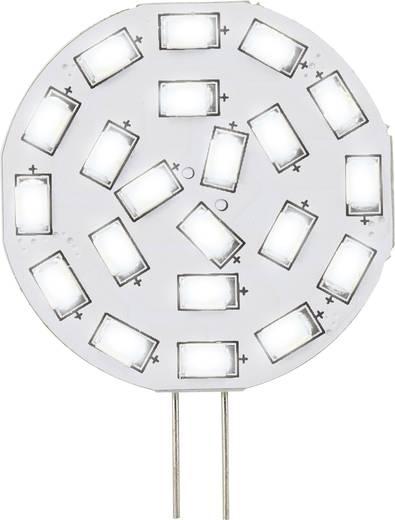 LED-es fényforrás, 47 mm12 V G4 3 W = 30 W Melegfehér, Renkforce