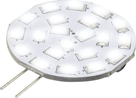 LED-es fényforrás, 47 mm12 V/DC G4 3 W = 30 W Nappalifény-fehér, Renkforce