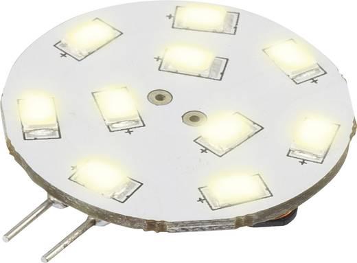 LED-es fényforrás, 42 mm12 V G4 1.5 W = 15 W Melegfehér, Renkforce, Renkforce