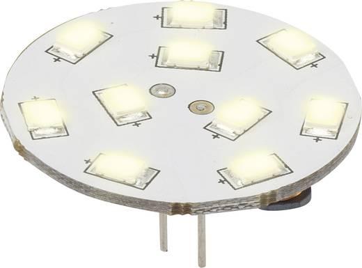 LED-es fényforrás, 16.75 mm12 V G4 1.5 W = 15 W Melegfehér, Renkforce, Renkforce