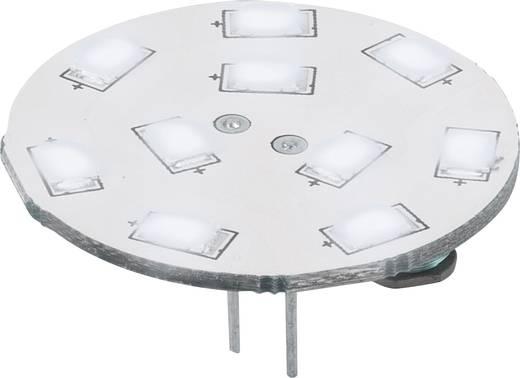 LED-es fényforrás, 16.75 mm12 V G4 1.5 W = 15 W Nappalifény-fehér, Renkforce, Renkforce