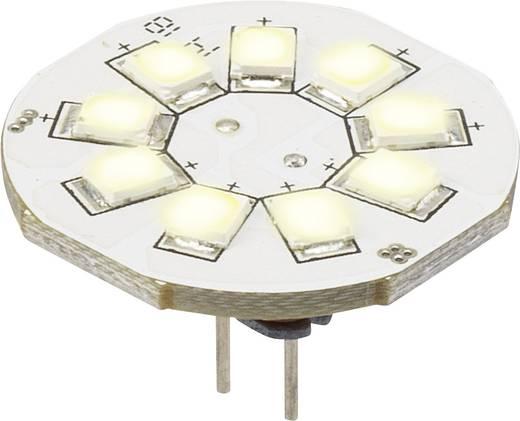 LED-es fényforrás, 16.75 mm12 V G4 1.5 W = 10 W Melegfehér, Renkforce, ,