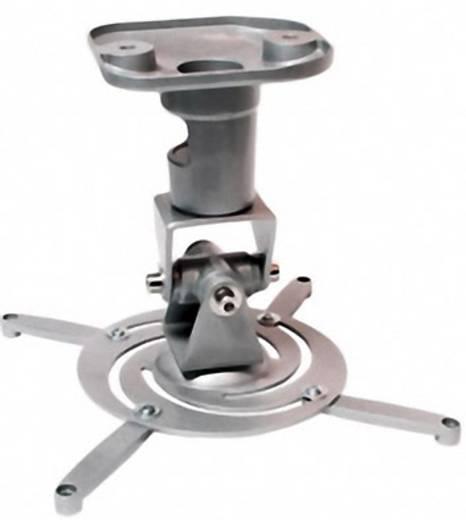 Mennyezeti projektor tartó konzol, dönthető, forgatható, max. távolság: 22 cm, szürke LogiLink BP0001