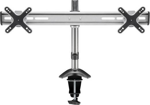 Asztali monitortartó, 2 monitorhoz, 13 - 23 Goobay ScreenFlex Twin