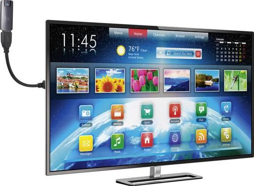 HDMI hosszabbító hattyúnyakkal, 0,15 m, Speaka