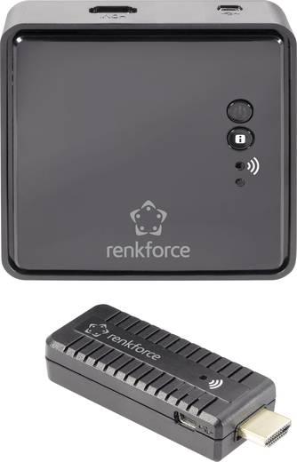 Vezeték nélküli HDMI jeltovábbító készlet, Renkforce 1285774