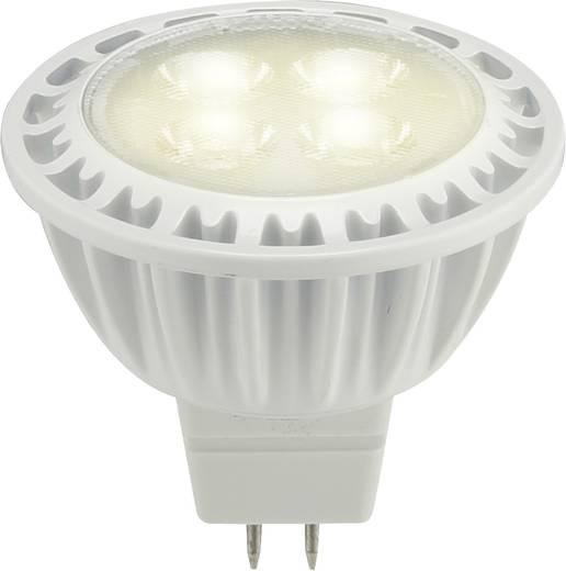 LED-es fényforrás, 12 V GU5.3 8 W = 35 W Melegfehér, Renkforce,