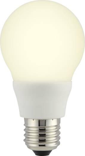 LED-es fényforrás, 110 mm 230 V E27 6.5 W = 40 W Melegfehér, Renkforce,