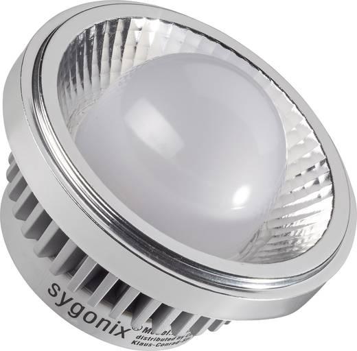 LED-es fényforrás, 93 mm 12 V G53 15 W Melegfehér, Renkforce,