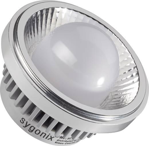 LED-es fényforrás, 93 mm 12 V G53 9 W Melegfehér, Renkforce