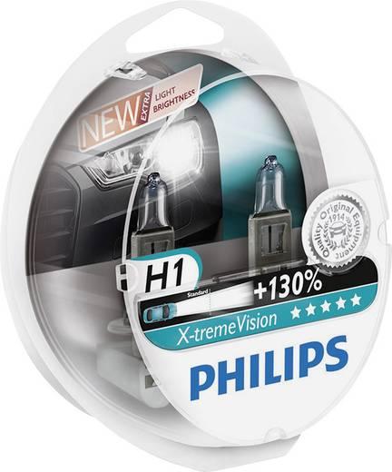 Philips X-tremeVision H1 12 V 1 pár P14.5s Ezüst
