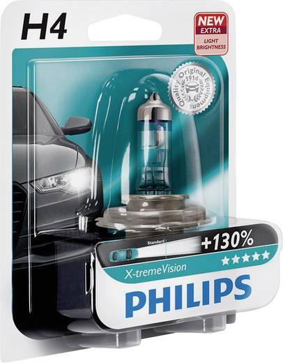 Philips X-tremeVision H4 12 V P43t Ezüst