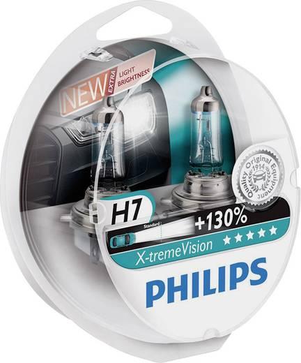 Philips X-tremeVision H7 12 V 1 pár PX26d Ezüst