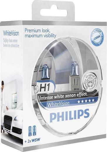 Philips WhiteVision H1 12 V 1 pár P14.5s Ezüst
