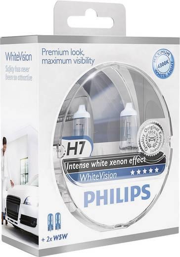 Philips WhiteVision H7 12 V 1 pár PX26d Ezüst