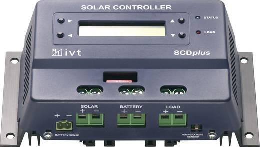 Napelem töltésszabályozó 12/24 V 15 A IVT SCDplus 15A