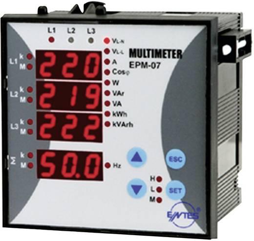 Beépíthető multiméter, ENTES EPM-07-96