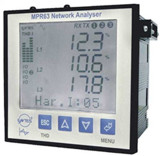 Programozható beépíthető multiméter, ENTES MPR-63