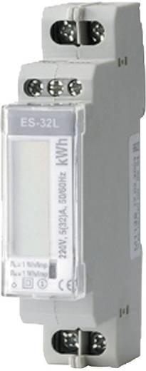 DIN sínre szerelhető 1 fázisú digitális fogyasztásmérő 32A, ENTES ES-32L