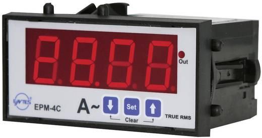 Programozható 1 fázisú beépíthető AC árammérő műszer, relés, ENTES EPM-4C-48