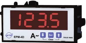 Programozható 1 fázisú beépíthető AC árammérő műszer, ENTES EPM-4D-48 ENTES
