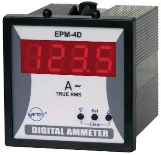Programozható 1 fázisú beépíthető AC árammérő műszer, ENTES EPM-4D-72