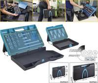 Hazet 165-S Szerszámos láda tartalom nélkül ABS műanyag Kék, Fekete Hazet