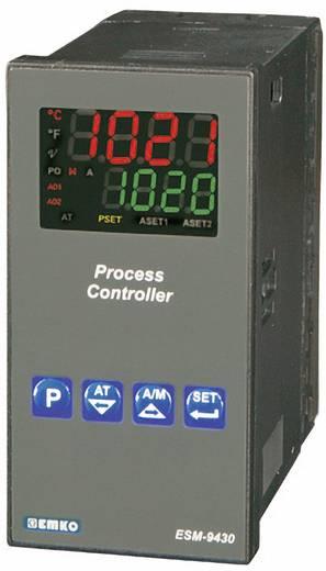 PID hőmérséklet szabályozó, relés, 5 A, SSR, 76 x 48 x 96 mm, Emko ESM-9430