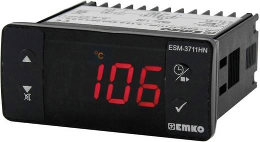Hőmérséklet szabályozó, PTC -50 - +150 °C, relés, 10 A, 59 x 77 x 35 mm, Emko ESM-3711-H