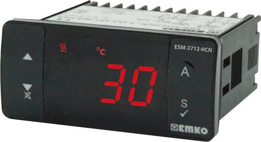 Hőmérséklet szabályozó, PTC -50 - +999 °C, relés, 5 A, 71 x 76 x 34.5 mm, Emko ESM-3712-HCN