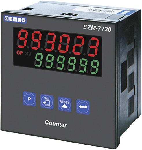 6 jegyű előre beállított számláló, relés kimenet, 69 x 69 mm, Emko EZM-7730.2.00.0.1/00.00/0.0.0.0