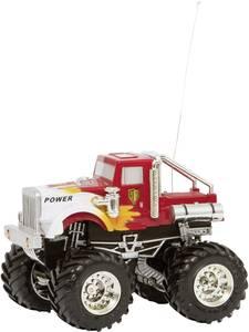 RC távirányítós modellautó, mini monstertrack kamion 1:43 méretű 27/40 MHz-es Invento 50008902 Invento