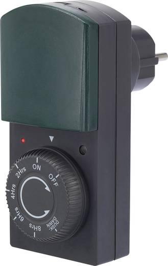Napi időkapcsoló óra dugaljjal és visszaszámláló funkcióval, 1000 W IP44, Renkforce EMT446MD