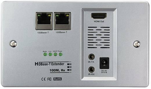 HDMI Extender adó egység, POE jelátalakító, falba építhető IP védett Inakustik Exzellenz 9120403