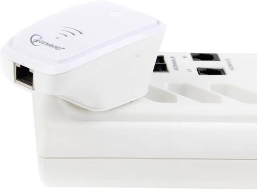 WLAN, WiFi repeater, jelerősítő 300 MBit/s 2.4 GHz Gembird WNP-RP-002-W