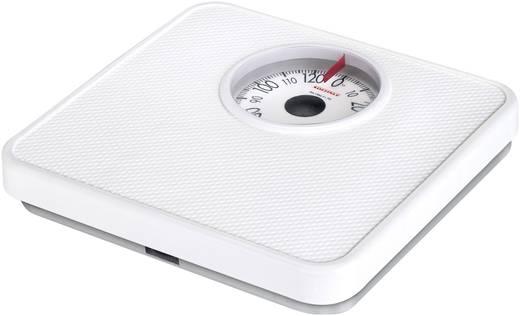 Analóg személymérleg, max. 130 kg, fehér, Soehjnle