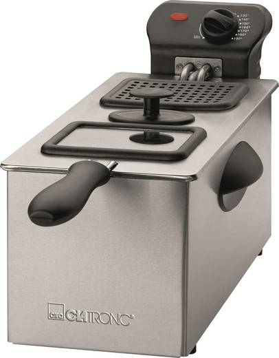 Fritőz 2000 W, rozsdamentes acél, Clatronic FR 3587