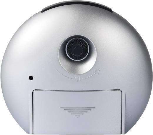 Rádiójel vezérelt ébresztőóra, 110 x 102 x 50 mm Eurochron