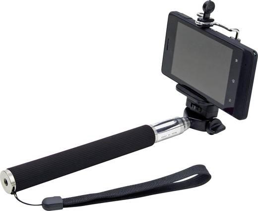 Selfie bot, monopod, teleszkópos fényképező rúd okostelefonokhoz max.116cm Dicota Selfie Stick Plus D31027