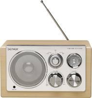 Asztali retro rádió, audio bemenettel, fa hatású Denver TR-61 (12213480) Denver