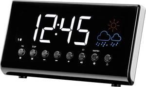 Rádiós ébresztőóra, időjárás előrejelzéssel, LED-es kijelzővel, Denver Denver